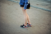 new balance,fluo,bag,sweater,shoes