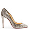Pigalle follies 100mm sequin-embellished pumps