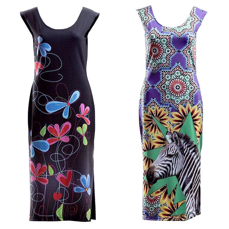 Custom Printed Sleeveless Dress. Custom Sleeveless Dress US