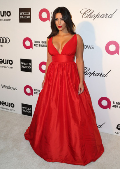 red red dress evening dress red carpet celebrity style red carpet dress prom dress celebrity dresses kim kardashian kim kardashian dress v neck dress