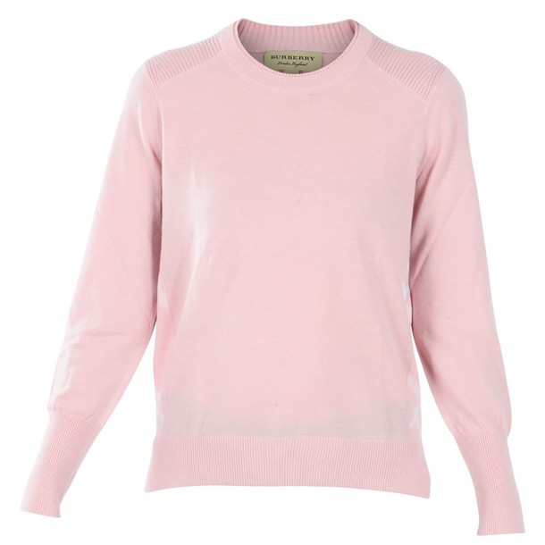 Burberry pink sweater