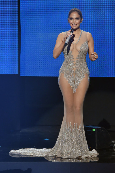 Sparkly See Through Dress January 2017