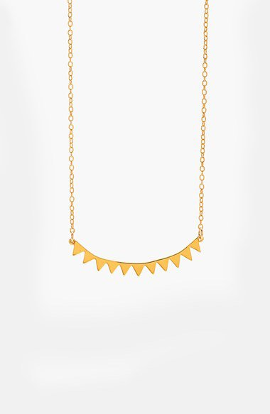 Gorjana 'mika' pedant necklace