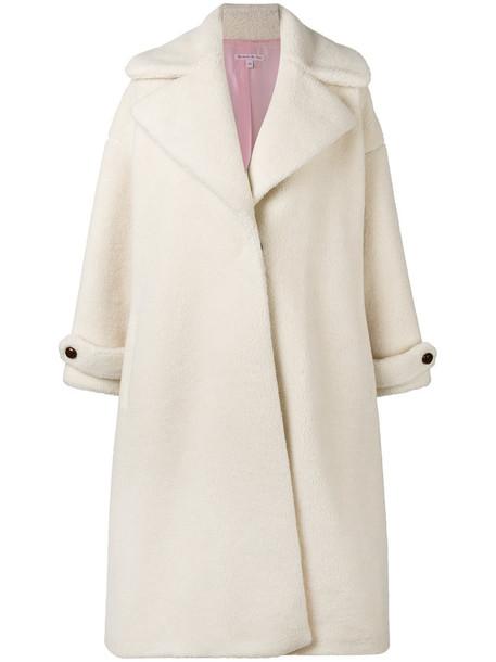 OLYMPIA LE-TAN coat women white wool