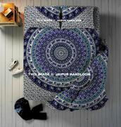 home accessory,queen mandala bedding set,duvet cover set,bedding,bedsheet,mandala bedding,mandala bedspread,beach blanket,beach throw,wall tapestry,4 pc bedding set