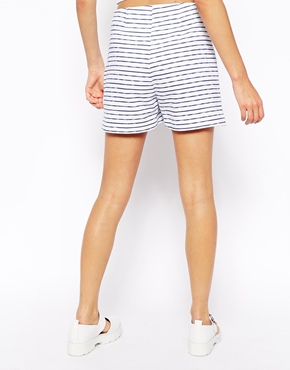 ASOS | ASOS Reclaimed Vintage Shorts In Stripe at ASOS