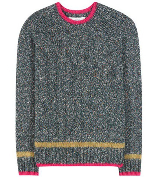 Vanessa Bruno Athé Knitted Sweater in green