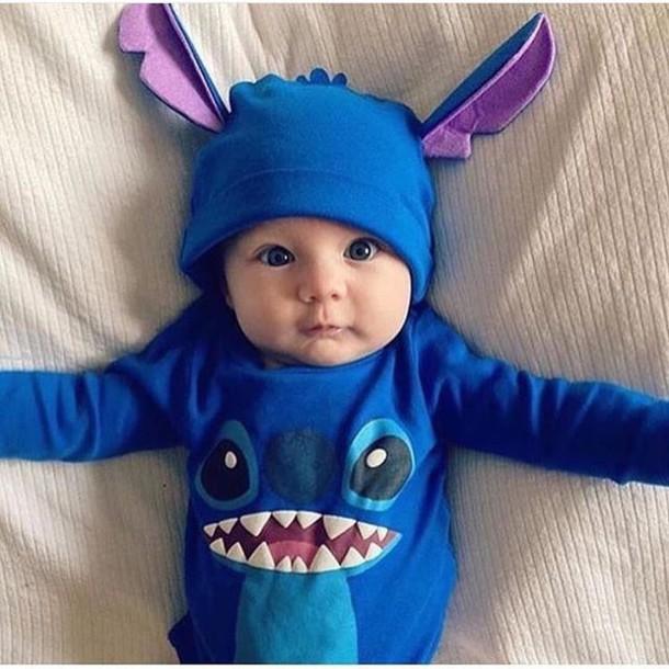 Pajamas Baby Clothing Sweet Lilo And Stitch Disney