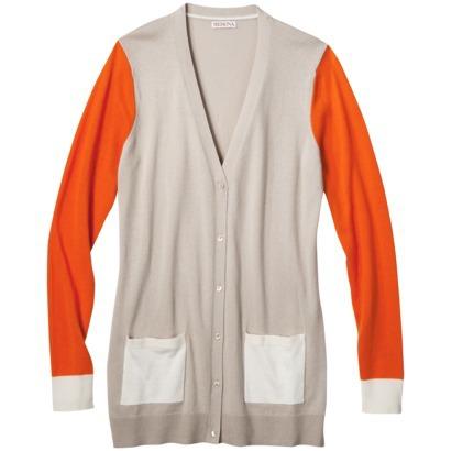 Merona® Women's Colorblock Longsleeve Cardig... : Target