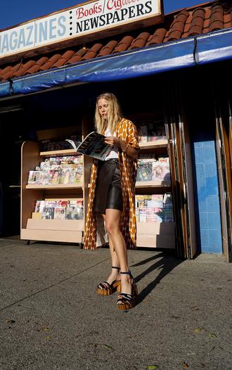 coat tumblr t-shirt white t-shirt skirt mini skirt black skirt sandals sandal heels high heel sandals swimwear shoes