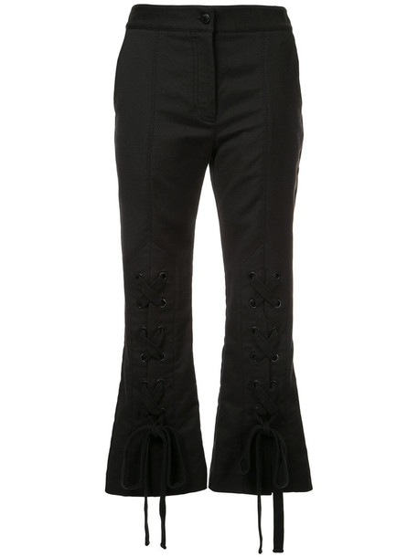 Manning Cartell women spandex cotton black pants
