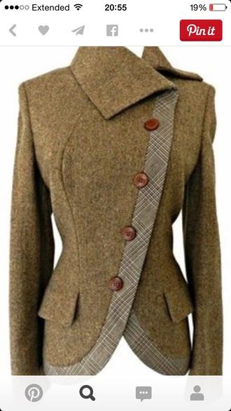 coat alexander mcqueen wool riding jacket