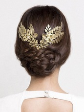 hair accessory,leaves,grecian headband,hipster wedding,wedding hairstyles