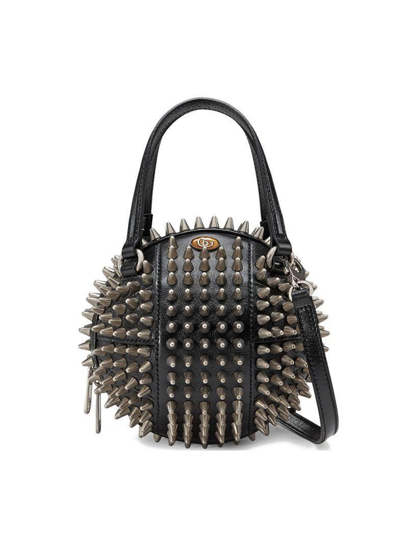 Gucci - Black Basketball Shaped Mini Shoulder Bag - Lyst