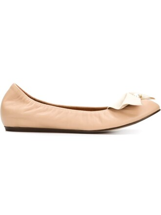 bow nude shoes