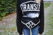 sweater,hoodie,pullover,black,white,axe,transit,cute,vans warped tour,tumblr,pop punk,band