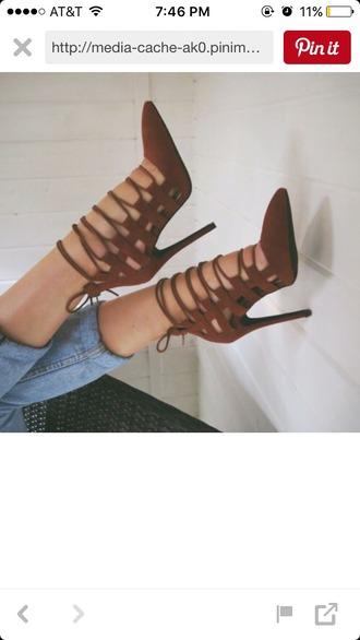 blouse high heels