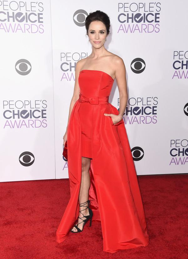 82bd31a6f31c dress strapless red dress red carpet dress red carpet gown prom dress  asymmetrical dress sandals abigail