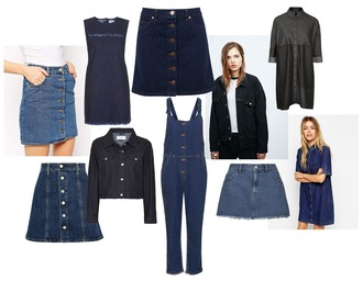 hannah louise fashion blogger jeans denim denim skirt t-shirt dress denim overalls skirt shirt dress jacket