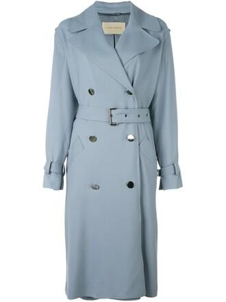 coat trench coat women spandex wool grey