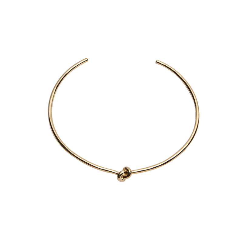 Knot Choker - Neck - Brass Collection