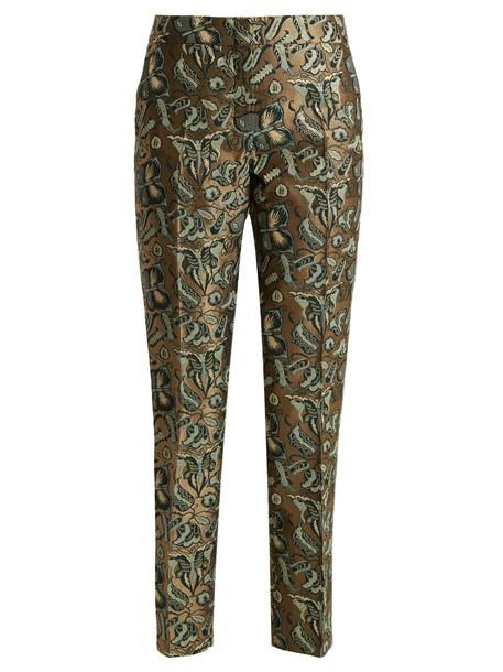 WEEKEND MAX MARA gold pants