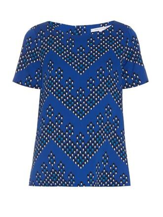 top print blue