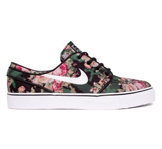 shoes camouflage nike janoski digital trainers skate nike floral