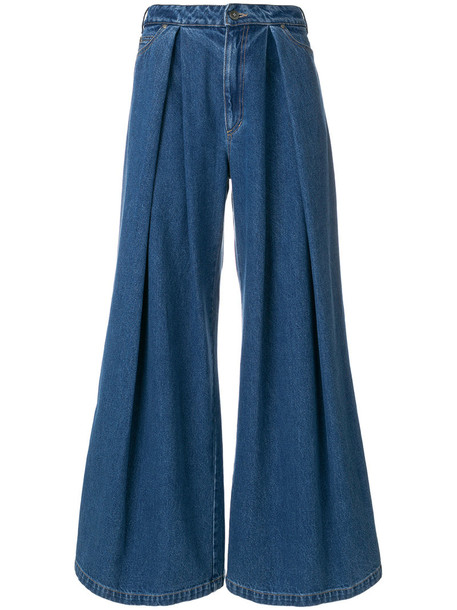 A.F.VANDEVORST jeans denim women cotton blue