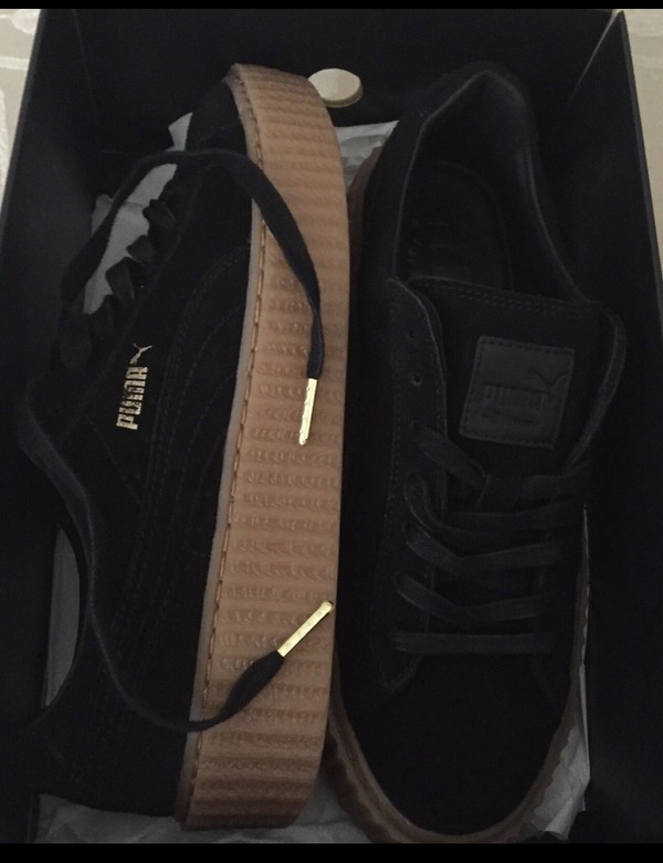 Puma Creepers Black Brown