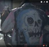 jacket,rap,lil peep,modern,style,skull,death