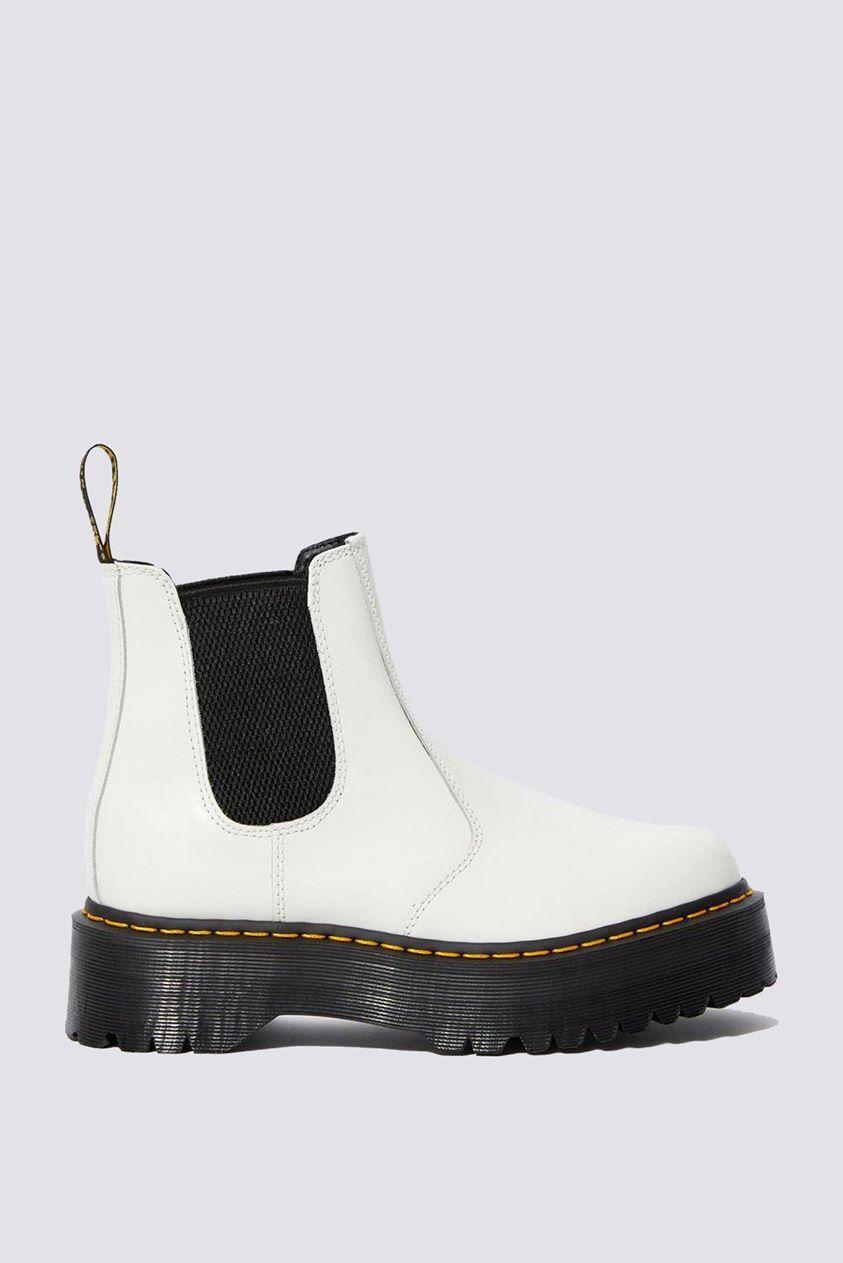 Smooth Leather 2976 Platform - White - 38