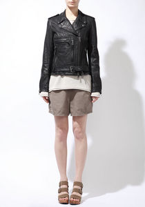 R13 / leather biker jacket