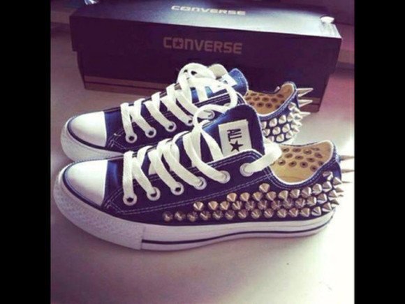 studded shoes converse