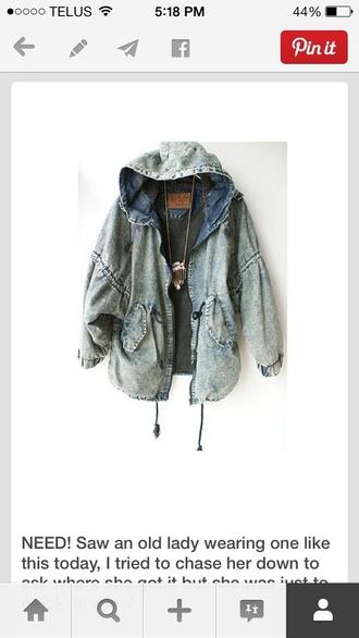 jacket acid acid wash jean 90's grunge 80's 90s jacket