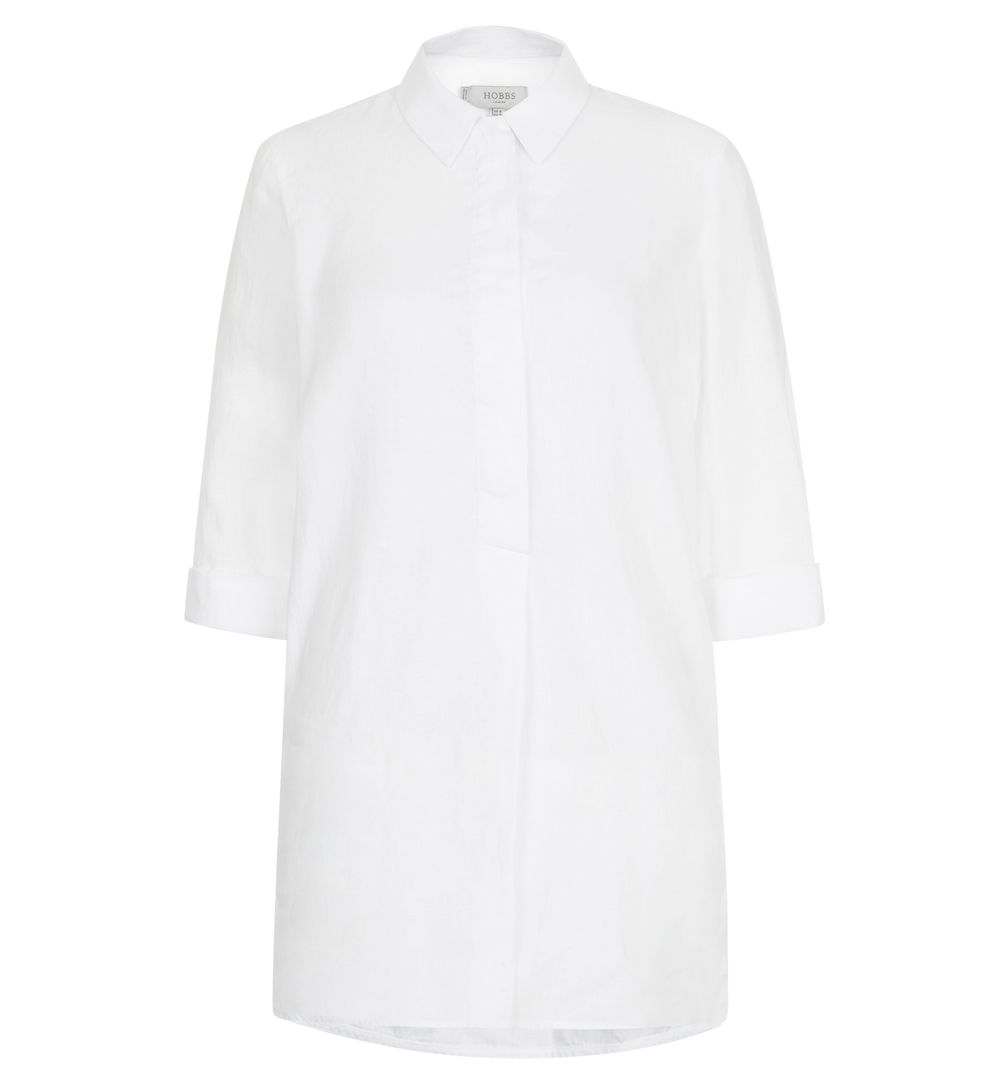White Adie Tunic | Shirts | Outlet Tops | Hobbs