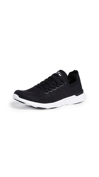 APL: Athletic Propulsion Labs TechLoom Breeze Sneakers in black / white