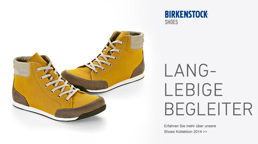 BIRKENSTOCK. Made in Germany. Tradition since 1774.