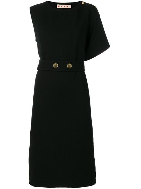 MARNI dress women cotton black