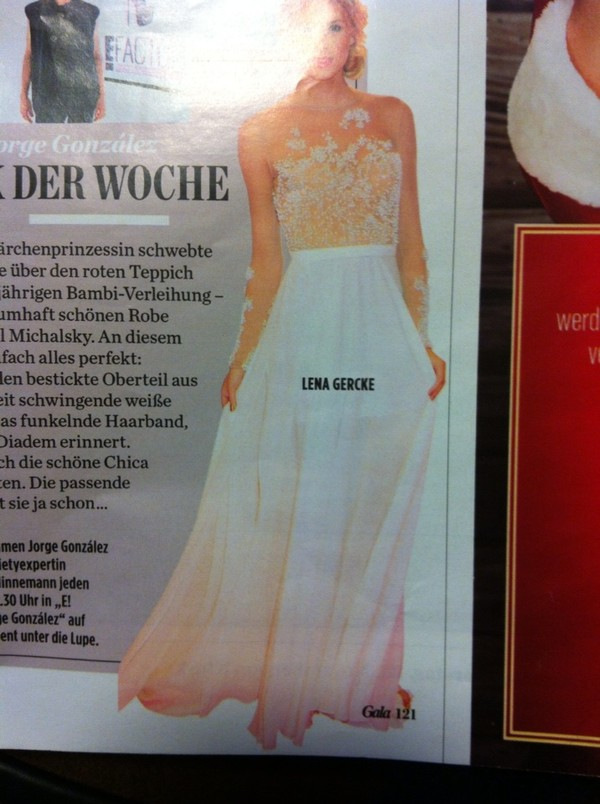 dress lena gercke brand prom