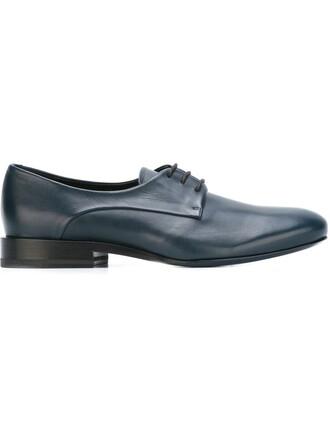 classic shoes lace blue