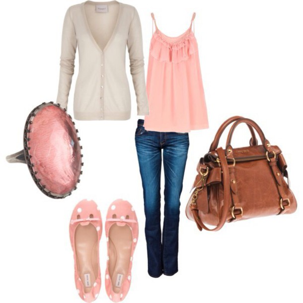 shirt pink gray