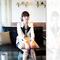 New fashion white women long sleeve lapel one button casual suit blazer coat top | ebay