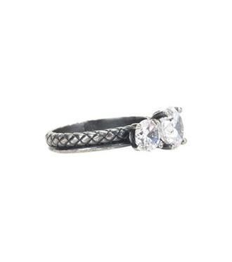 embellished ring silver ring silver metallic jewels