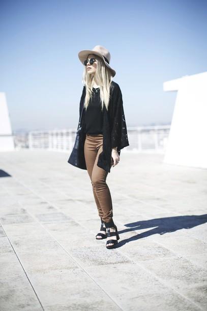 room91 blogger pants shoes hat bag sunglasses
