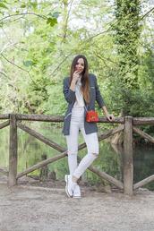 irene closet,blogger,bag,jacket,jeans,shoes
