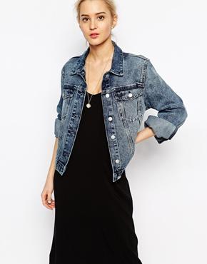 Weekday 90s' denim jacket at asos