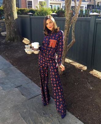 pants blouse olivia culpo instagram fall outfits