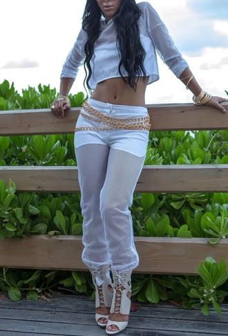 mesh pants sweatpants track pants