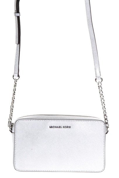 MICHAEL Michael Kors leather silver bag